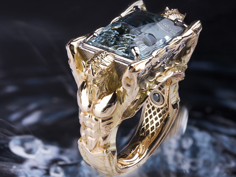 Poseidon Ring von CAD4you, Forum Design, H2.304